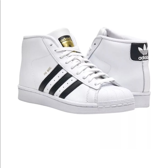 55059d7d558586 Adidas superstar pro model High Top